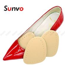 Sunvo передняя часть стопы подушечки стельки для обуви женская высокая пятка наклейка обувь вставки противоскользящие передняя часть стопы подушка стопа боль облегчение уход подушечка