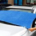 1 шт. 160*60 см Впитывающее мягкое полотенце из микрофибры для чистки автомобиля, автоматическая стирка, сухая чистая полировка, ткань, подходи...