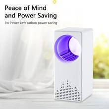 Без излучения УФ-свет электрический москитная убийца лампы ловушка анти-ошибка Fly насекомых репелленты Заппер с USB
