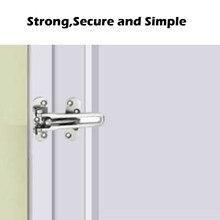 Дверной Замок Домашняя безопасность Дверной Замок передняя дверь домашний Замок из арматуры алюминиевый сплав Дверная ручка Замок двери дропшиппинг