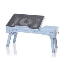 Регулируемый складной портативный охладительный стол диван, кровать для офисного отдыха в стойке для 14/15. 6 дюймов компьютер с сенсорным экраном монитора Тетрадь с немой вентилятор