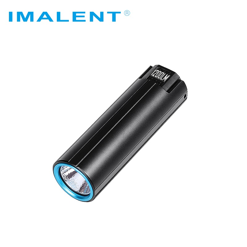 IMALENT LD10 Keychain Led Flashlight CREE XPL HI 1200Lumens Magnetical Tail Mini USB Flashlight  Camp Night Lights Lantern