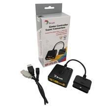 新しいブルックスーパー変換アダプタソニー用PS3 PS4のためのプレイステーション4コントローラのためにfightstick PS2/psクラシック