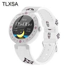 مقياس مسافة السير بالبلوتوث جهاز تعقب للياقة البدنية ساعة ذكية ضغط الدم النوم رصد النساء السعرات الحرارية الرياضة Smartwatch صالح أندرويد IOS