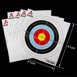 Image 4 - Archery Shooting Target Set 50 * 50 * 5cm EVA Foam Target With Target Papers Nails Outdoor Sports Hunting Archery Accessories
