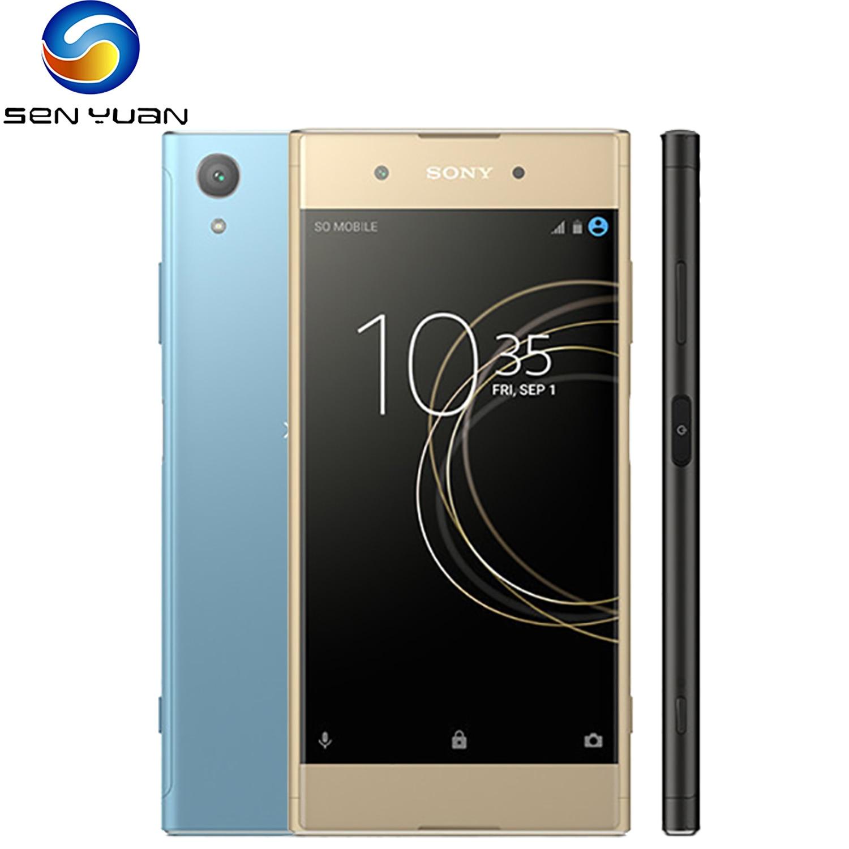 Оригинальный Sony Xperia XA1 плюс 4 аппарат не привязан к оператору сотовой связи мобильный телефон 5,5
