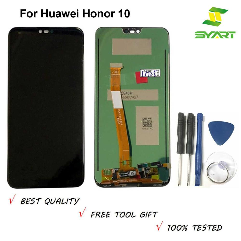 100% Tested 5.84'' For Huawei Honor 10 LCD Display +Touch Screen Digitizer Assembly Replacement COL-L29 Honor10