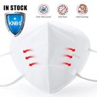متوفر 100 قطعة KN95 N95 FaceMasks masque القط مكافحة الغبار السلامة واقية الفم واقي الوجه-في أقنعة الوجه من الأمن والحماية على