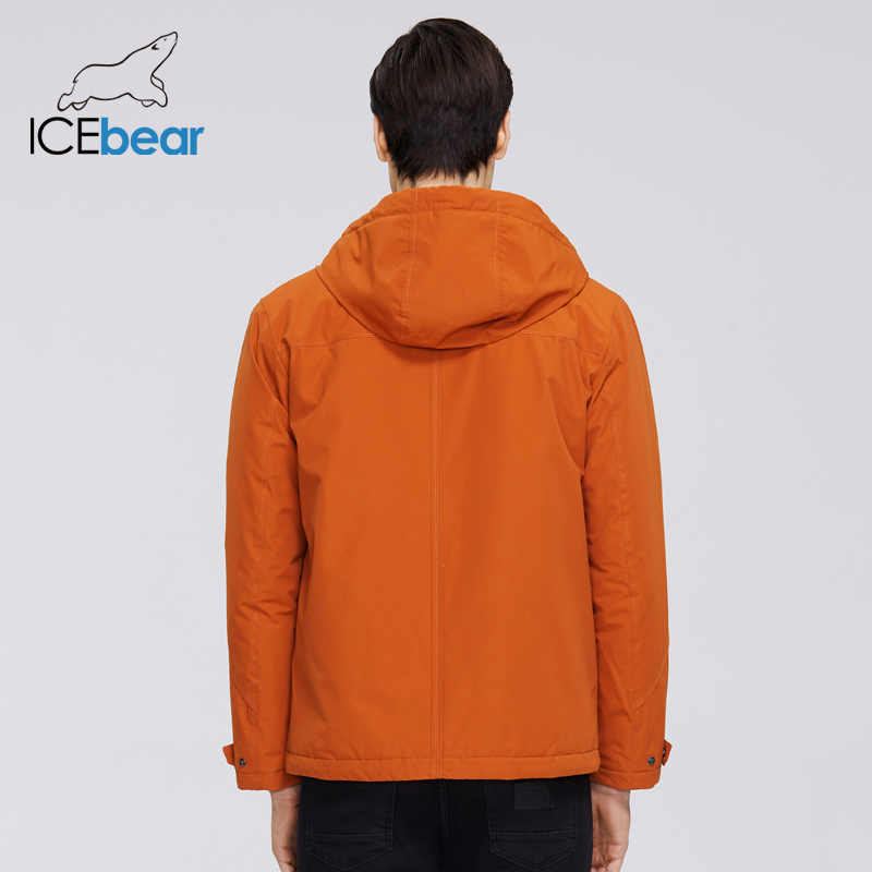 ICEbear 2020 신사복 재킷 후드 고품질 남성 자켓 MWC20802D