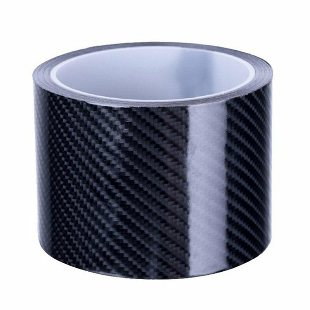 5D 7 см углеволоконная плёнка Стикеры автомобиля оконные стойки автомобильной Стикеры s отделкой Чехлы для автомобиля включает защитную лен...