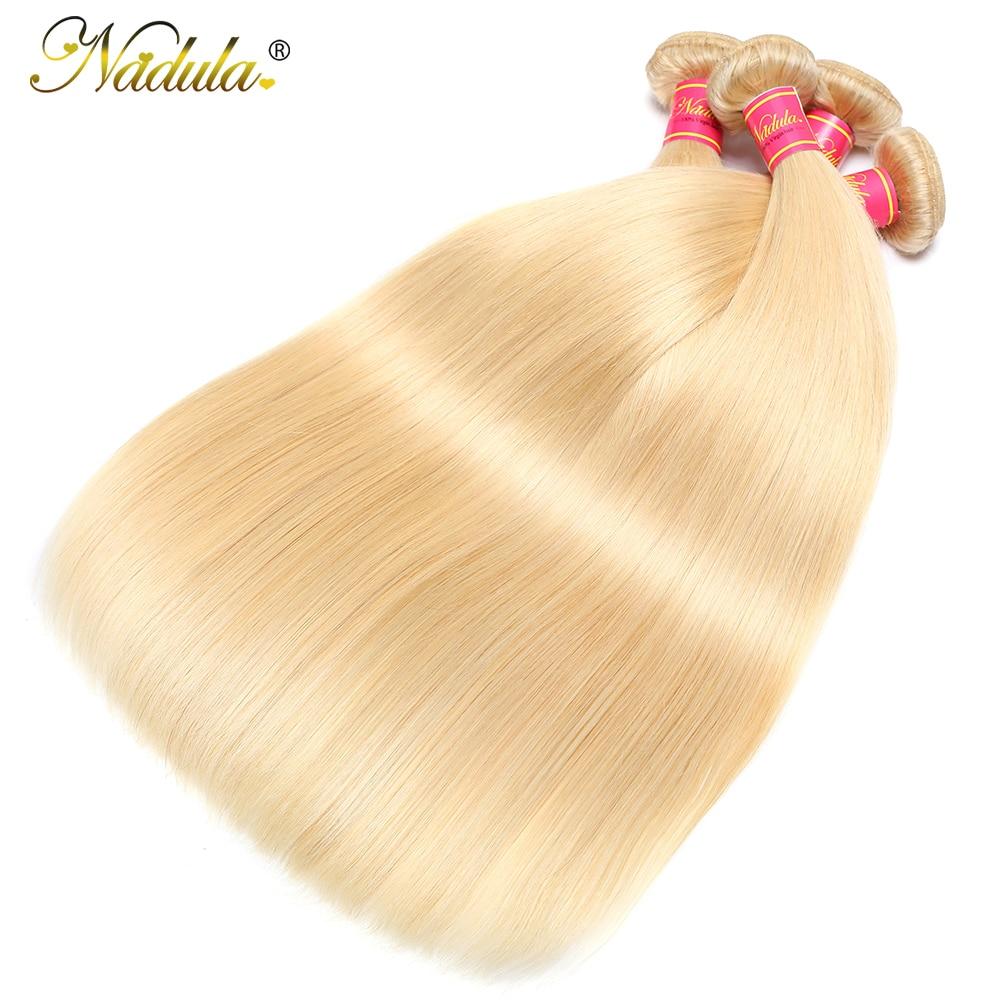 Nadula Hair #613 Blonde Hair Bundles  Straight Hair s 3 Bundles  Bundles 2