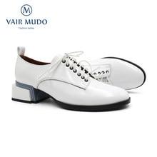 Primavera outono bombas de tornozelo sapatos 2021 novo estilo saltos grossos básico escritório & carreira casual branco preto moda calçados sewin d5