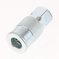 5x universal conjunto de acoplador rápido acessórios de ar conector kit 1/4