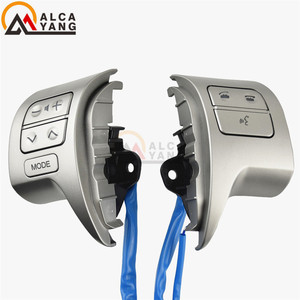 Image 3 - Bluetooth Steering Wheel Audio Control Switch 84250 02200 For Toyota Corolla ZRE15 2007 ~2010
