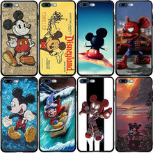 Mickey Minnie Housse Pour Samsung S5 S6 S7 Bord S8 S9 S10 S10E S20 S11 Note 8 9 10 Pro Lite Plus Ultra J4 J6(China)