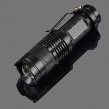 18650 Battery Tactical Flashlight 5 Files Classic Black Durable Aluminum T6 Luminous Bulb Zoom Camping Hunting