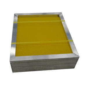Image 4 - 1Pc 120t maille réutilisable en aluminium sérigraphie cadre 27x39cm avec maille jaune 300TPI pour faire pochoir