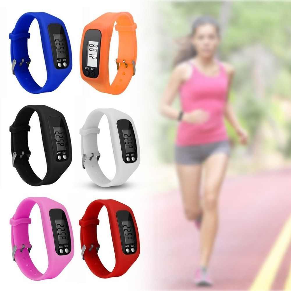 Multifonction intelligent adulte Bracelet podomètre activité Tracker 5 affichage nombres LED Sport de plein air Bracelet santé montre