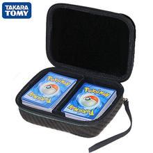 포케몬 카드 스토리지 박스 400Pcs 용량 어린이 게임 거래 TCG 카드 컬렉션 가방 캐리 이어폰 케이스 가방 키즈 선물 완구