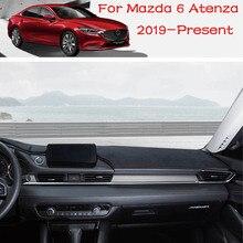 Tapis de protection de vitre arrière pour tableau de bord de voiture, pare soleil pour tableau de bord de Mazda 6 Atenza 2021 2019 2020, accessoires de voiture