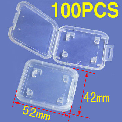 DHL/EMS  1000PCS SD RS MMC SD Memory Card Protection Box Cases-A8