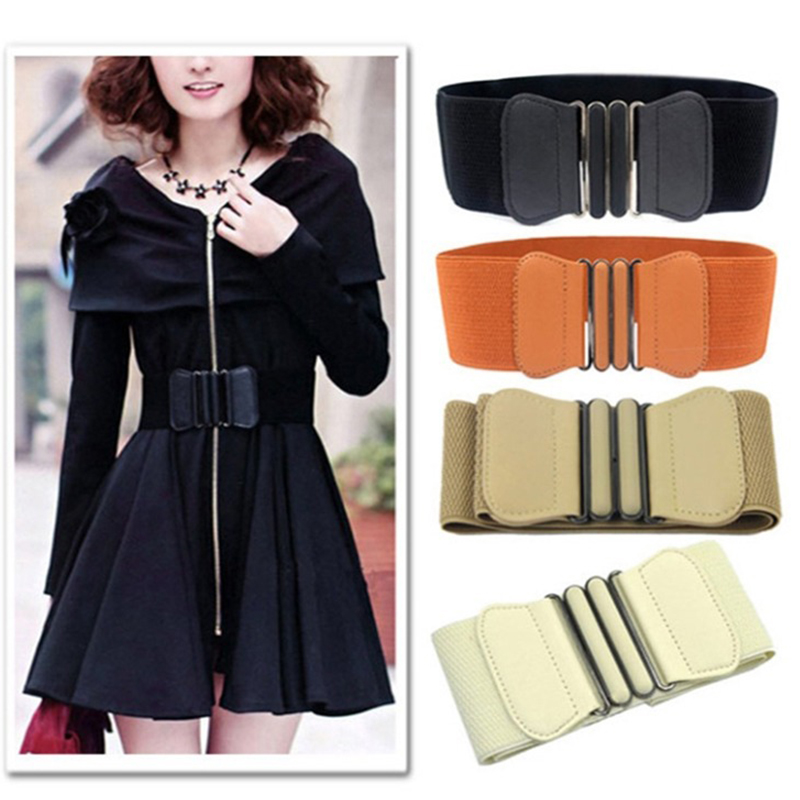 Retro Loose Wide Buckle Belt For Dress Jacket Cummerbunds Women Corset Belt Waistband Belts For Women Belt