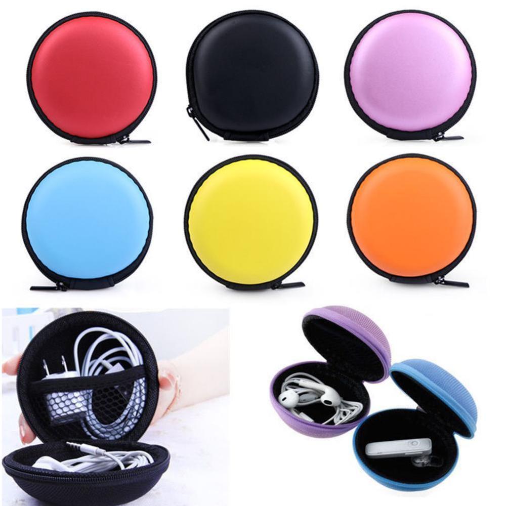 Portable EVA Carrying Hard Storage Case Box For Earphone Headphone Headset Earphone Earbud Pouch Bag