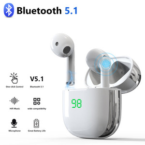 Спортивные наушники, Bluetooth-наушники, беспроводные наушники с сенсорным управлением, HD гарнитура для звонков, TWS Стерео Игровые наушники с ми...
