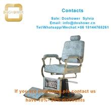 Silla de peluquero DS-T273 Silla de peluquería duradera reclinable con base para silla de peluquería hidráulica para silla de peluquero vintage