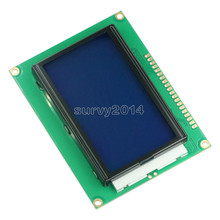 1PCS NEUE 5V 12864 LCD Display Modul 128x64 Dots Grafik Matrix LCD Blau Hintergrundbeleuchtung
