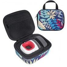 Жесткая Сумка для хранения EVA, дорожная сумка для переноски, чехол для Cricut, легкий пресс, мини термопресс, машина и зарядное основание, аксессуары