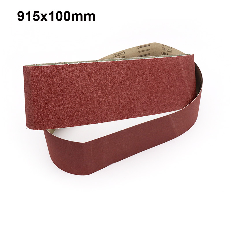 915x100mm Grinding And Polishing Replacement Sanding Belt Grit Paper For Angle Grinder Machine Abrasive Tools Accessories Tools