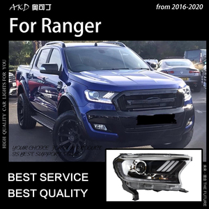 Image 5 - AKD Car Styling for Ford Everest Ranger Headlights 2016 2020 Dynamic Turn Signal LED Headlight DRL Hid Bi Xenon Auto Accessories