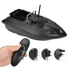 Wireless Fishing Bait Boat Rechargeable Smart 500m Remote Control Fish Finder Lure Boat Bait Thrower Fishing Tool US 100-240V