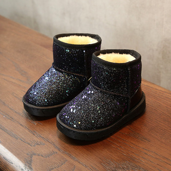 Bling Children Shoes For Girls Winter Toddler Leather Boots Kids Waterproof Snow Boots For 2 3 4 5 6 7 8 9 10 11 12  Year Old 18m 3 catimini year old girls jacket page 5 page 2