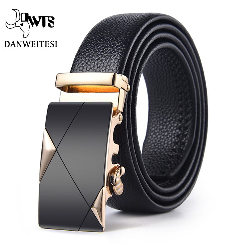 【DWTS】Men Belt Male Genuine Leather Belt Strap