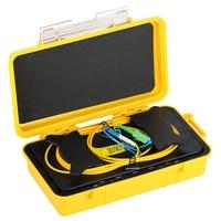 SC/APC LC/UPCOTDR Zone Eliminator ,Fiber Optic OTDR Launch Cable Box 500M 1Km 2Km SM 1310/1550nm
