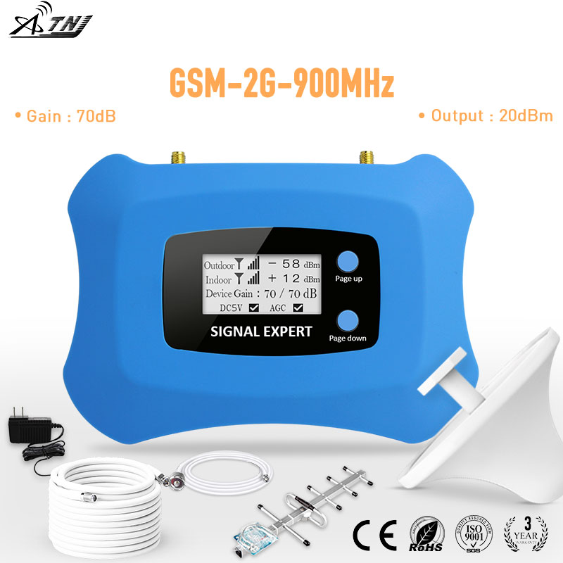 Mini 2G GSM Repeater 900mhz Cell Phone Amplifier 2g Mobile Signal Booster Kit For 2G Calling Voice For Assia Africa ,EU Area