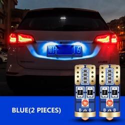 2x LED T10 W5W 192 Car Parking Light For Peugeot 307 308 407 207 406 208 3008 2008 508 408 306 301 106 107 607 5008 807 205 405