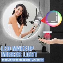Светодиодный светильник для зеркала макияжа с usb лампа в голливудском