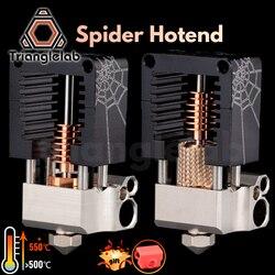 Экструдер trianglelab spider Hotend для 3D-принтера высокой точности, совместимый с адаптером от комаров TITAN BMG