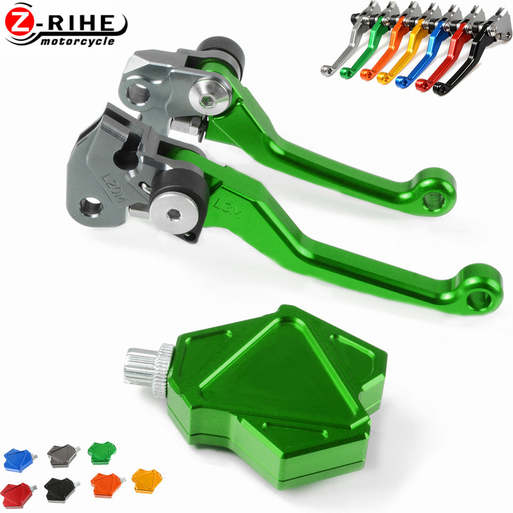 Motorcycle Accessories Pivot Brake Clutch Levers And Easy Pull Clutch Lever System Moto Parts For KAWASAKI KX250F 2013-2018