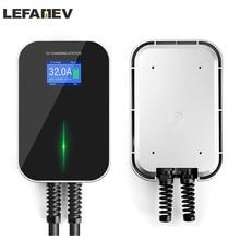Station de recharge pour véhicule électrique 32a, 1Phase EVSE Wallbox EV chargeur avec câble de Type 2 IEC 62196 – 2 étanche pour Audi et Benz
