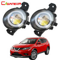 Cawanerl For Nissan X-Trail T30 2001 2002 2003 2004 2005 2006 Car LED Fog Light Angel Eye Daytime Running Light DRL 12V 2 Pieces