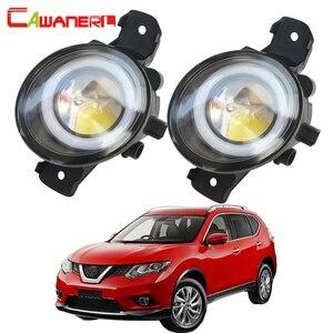 Cawanerl For Nissan X-Trail T30 2001 2002 2003 2004 2005 2006 Car LED Fog Light Angel Eye Daytime Running Light DRL 12V 2 Pieces(China)