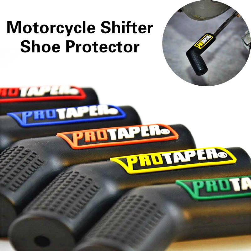 Motorcycle Shifter Shoe Protector Gas Accessories Rubber Shift Lever Gear Cover Motorbike Parts Universal Lever Protection Moto