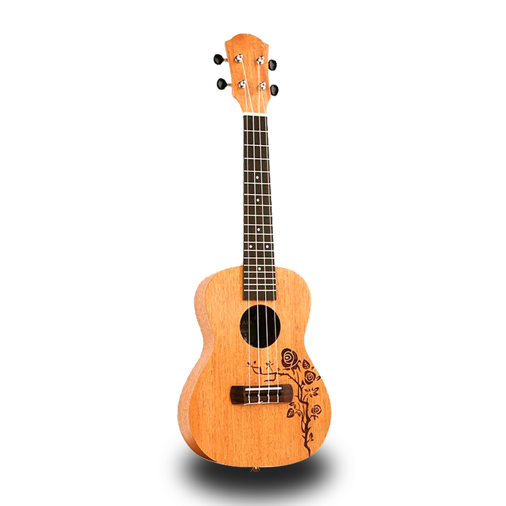 Top Quality 21 23 Inch 4 Strings Sapele Wood Ukulele Rosewood Fretboard Hawaiian Mini Accoustic Guitar Music Instrument UK2108