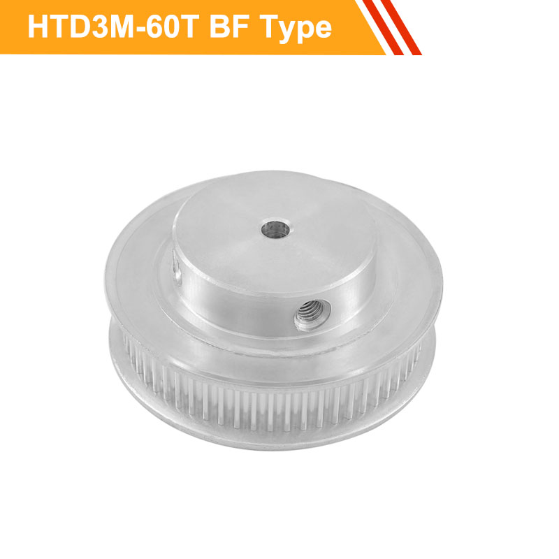 3M 60T Timing Belt Pulley HTD3M Type Transmission Pulley 11mm/16mm Belt Width 8/10/12/14/15/16/17/20mm Bore Toothed Pulley Wheel