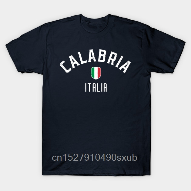 Fashion T Shirt 100% Cotton Round Neck Cool  Man's Calabria Italia 2020 Fashion Style T Shirt