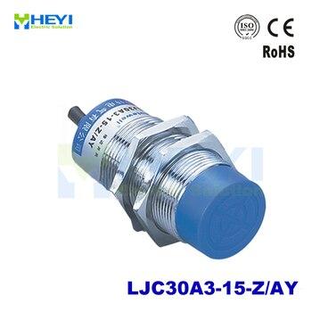 M30 sensor capacitivo de proximidad LJC30A3-15-Z/AY PNP DC6-36V 3-cable NC 300mA interruptor de metal